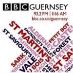 Logo da emissora BBC Radio Guernsey 93.2 FM