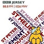 Logo da emissora BBC Radio Jersey 88.8 FM