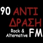 Logo da emissora Radio Antidrasi 90 FM