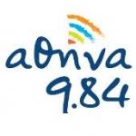 Logo da emissora Radio Athina 98.4 FM