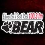 Logo da emissora Radio CFBR 100.3 FM