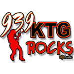 Logo da emissora Radio WKTG 93.9 KTG Rocks FM