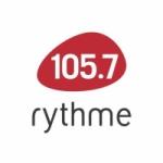Logo da emissora Radio CFGL Rythme FM 105.7
