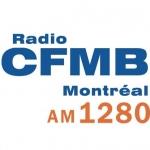 Logo da emissora Radio CFMB Montr�al 1280 AM