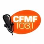 Logo da emissora Radio CFMF 103.1 FM