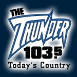Logo da emissora Radio CFQK 103.5 FM