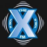 Logo da emissora Radio CIXX The X 106.9 FM