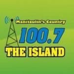 Logo da emissora Radio CFRM The Island 100.7 FM