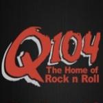 Logo da emissora Radio CFRQ 104 FM