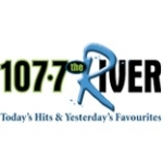 Logo da emissora Radio CFRV The River 107.7 FM