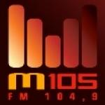 Logo da emissora Radio CFXM M 105 FM
