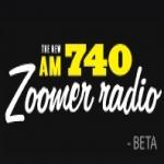 Logo da emissora Radio CFZM Zoomer 740 AM
