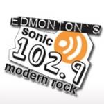 Logo da emissora Radio CHDI Sonic 102.9 FM