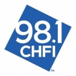 Logo da emissora Radio CHFI 98.1 FM
