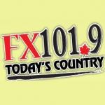 Logo da emissora Radio CHFX 101.9 FM