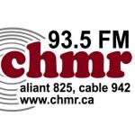 Logo da emissora Radio CHMR 93.5 FM