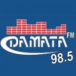 Logo da emissora R�dio da Mata 98.5 FM