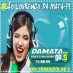 Logo da emissora R�dio Damata 98.5 FM