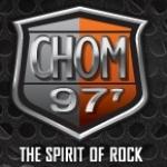 Logo da emissora Radio CHOM 97.7 FM
