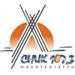Logo da emissora Radio CHUK 107.3 FM