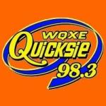 Logo da emissora Radio WQXE Quicksie 98.3 FM