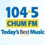 Logo da emissora Radio CHUM 104.5 FM