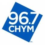 Logo da emissora Radio CHYM 96.7 FM