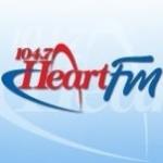 Logo da emissora Radio CIHR Heart 104.7 FM