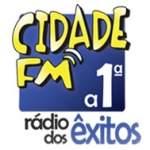 Logo da emissora Rádio Cidade 91.6 FM