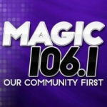 Logo da emissora Radio CIMJ Magic 106.1 FM