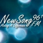 Logo da emissora Radio CINB New Song 96.1 FM