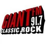 Logo da emissora Radio CIXL Giant 91.7 FM