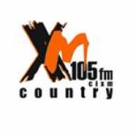 Logo da emissora Radio CIXM 105 FM