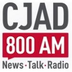 Logo da emissora Radio CJAD 800 AM