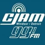 Logo da emissora Radio CJAM 91.5 FM