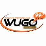Logo da emissora Radio WUGO 99.7 FM