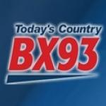 Logo da emissora Radio CJBX 93 FM