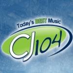 Logo da emissora Radio CJCJ 104 FM