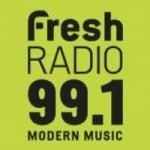 Logo da emissora Radio CJGV Fresh 99.1 FM