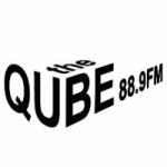Logo da emissora Radio CJMQ The QUBE 88.9 FM