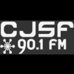 Logo da emissora Radio CJSF 93.9 FM