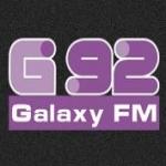 Logo da emissora Radio Galaxy 92 FM