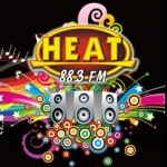 Logo da emissora Radio Heat 88.3 FM