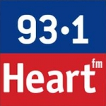 Logo da emissora Radio Heart 93.1 FM