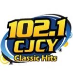 Logo da emissora Radio CJCY 102.1 FM
