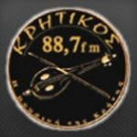 Logo da emissora Radio Kritikos 88.7 FM