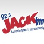 Logo da emissora Radio CJET Jack 92.3 FM
