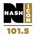 Logo da emissora Radio WVLK Nash 101.5 FM
