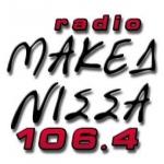 Logo da emissora Radio Makedonisa 106.4 FM