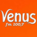 Logo da emissora Rádio Venus 100.7 FM